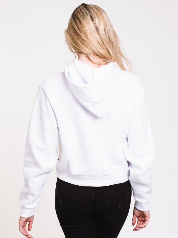 WOMENS CLASSIC V Pullover HOODIE - WHITE