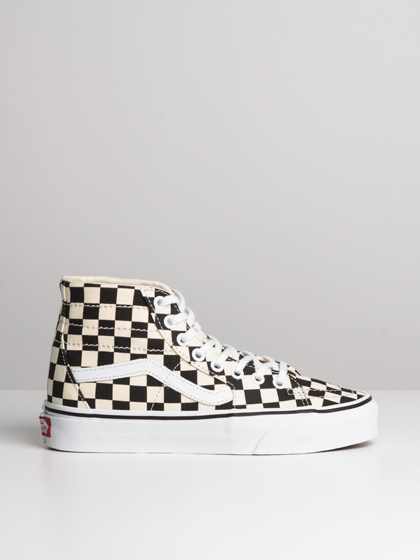 WOMENS SK8 HI TAPERED - B/W CHECKER