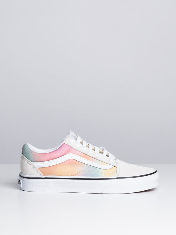 WOMENS OLD SKOOL - AURA SHIFT/WHITE