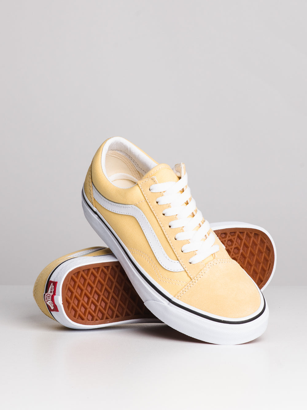 WOMENS OLD SKOOL - GOLDEN HAZE/WHITE