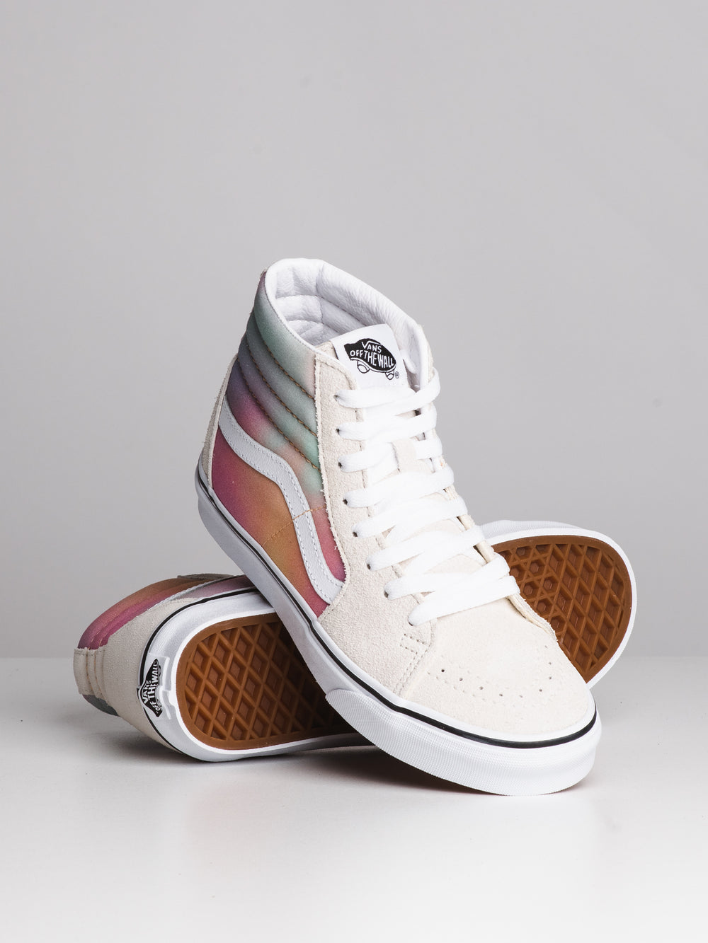 WOMENS SK8 HI - AURA SHIFT/WHITE