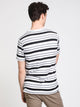 MENS RHODES SHORT SLEEVE CREW T - STRIPE