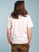 MENS TENTON SHORT SLEEVE WOVEN - WHITE- CLEARANCE