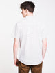 MENS SALT DOT SHORT SLEEVE Woven - WHT - CLEARANCE