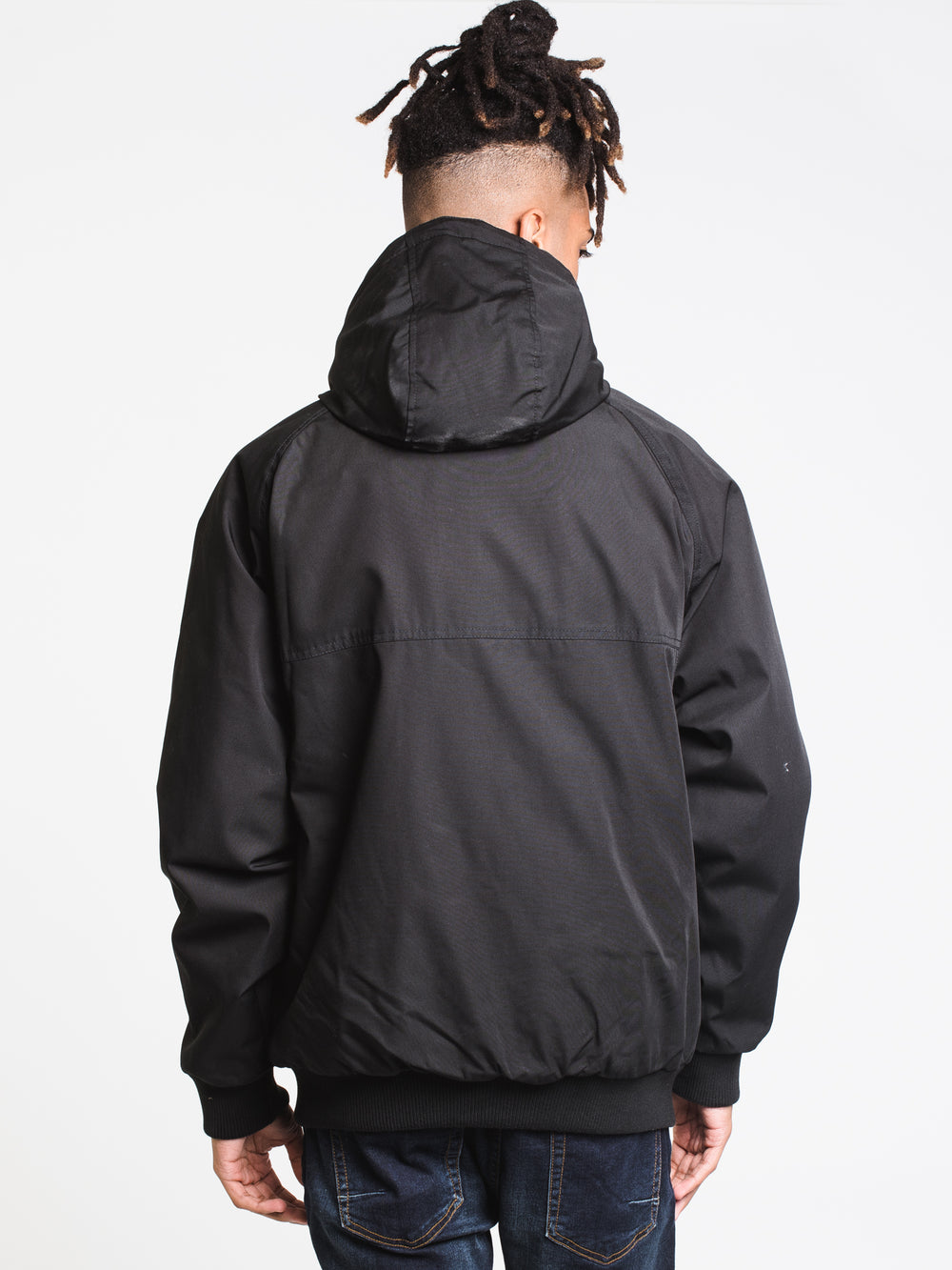 MENS HERNAN 5K JACKET - BLACK