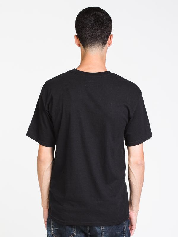 MENS UNDERMIND SHORT SLEEVE T-SHIRT- BLK
