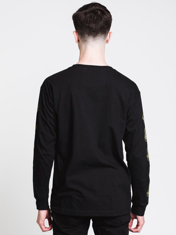 MENS INNARD L/S T - BLACK