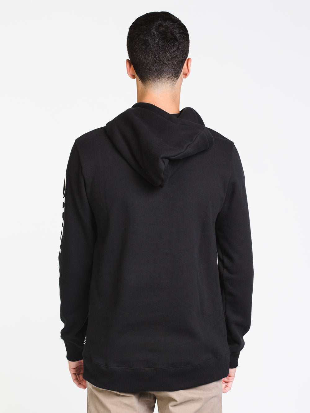 MENS ISHINO PULLOVER HOODIE- BLK