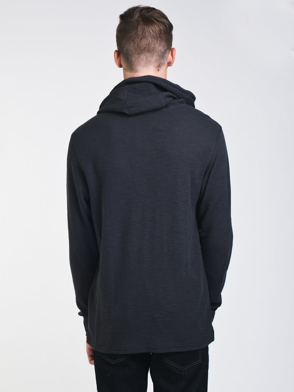MENS MURPHY THERMAL LONG SLEEVE - GRY/BLK - CLEARANCE