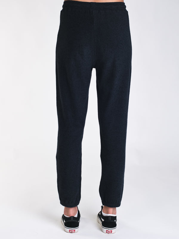 WOMENS LIL FLEECE PANT - BLACK