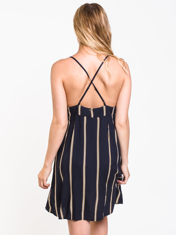 WOMENS NOW OR NOW CAMI DRESS - NAVY