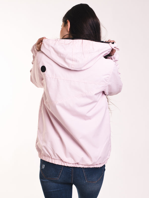 WOMENS ENEMY STONE JACKET - LIGHT PINK