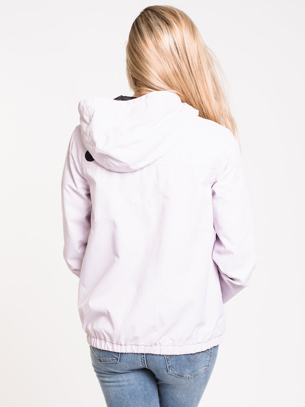 WOMENS ENEMY STONE JACKET - LAVENDER