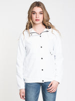 WOMENS ENEMY STONE JACKET - WHITE