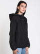 WOMENS ENEMY STONE JACKET - BLACK
