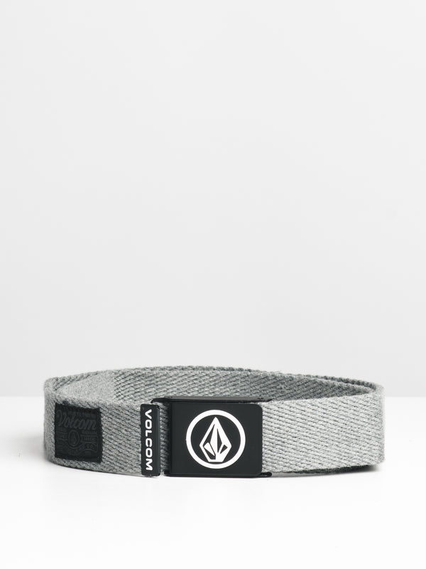 CIRCLE WEB BELT - HTHR GREY