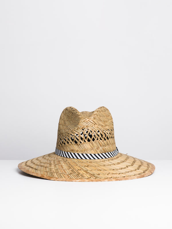 THROW SHAW STRAW HAT - NATURAL