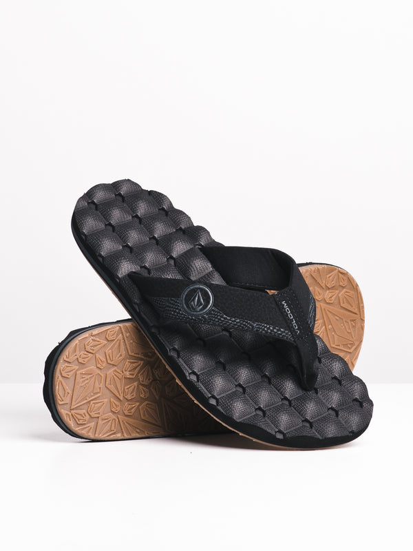 MENS RECLINER BLACK DESTRUCTO SANDALS