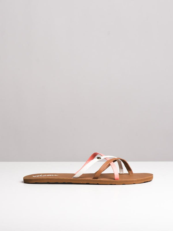 WOMENS NEW SCHOOL CORAL SANDALS