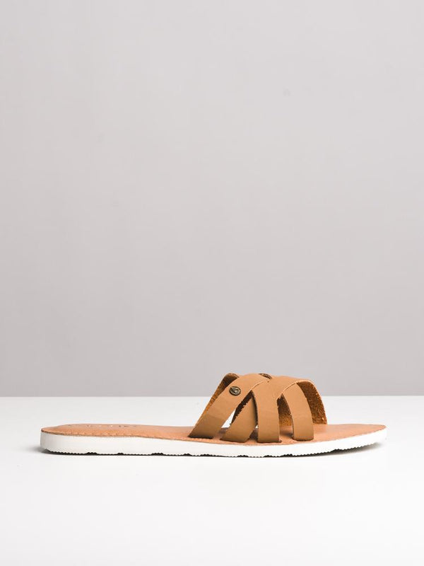 WOMENS GARDEN PARTY TAN SANDALS- CLEARANCE