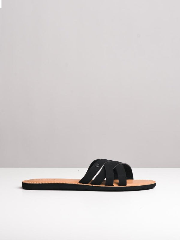 WOMENS GARDEN PARTY BLACK SANDALS