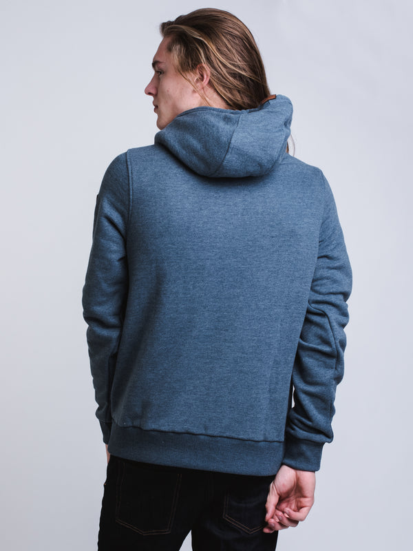 MENS CASCADE HOODIE - NVY HEATHER