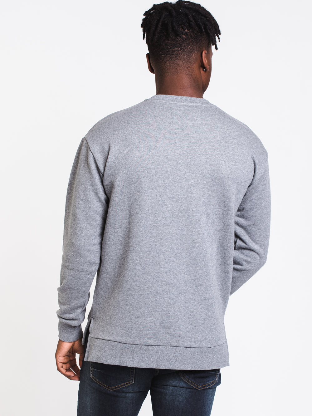 MENS PROJECT ZANEROBE CREW - HTHR GREY