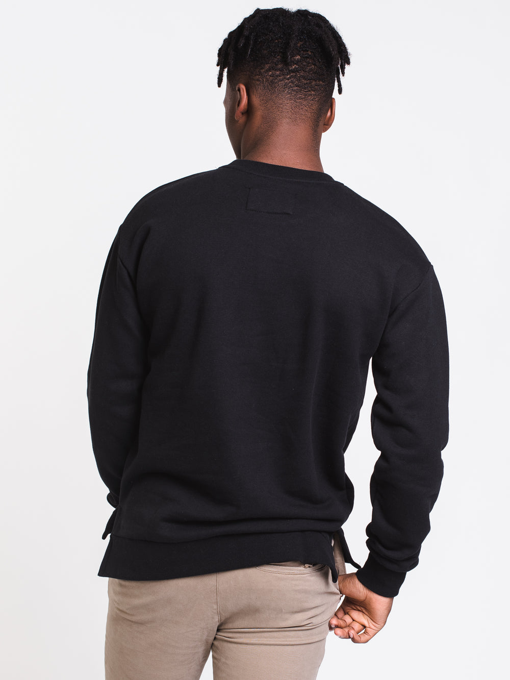MENS FLINTLOCK CREW - BLACK