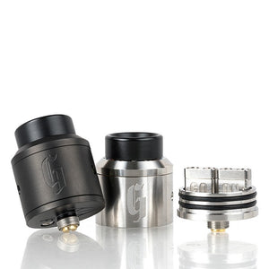 Goon 25mm RDA Black and Silver | Phantom Vape Supply