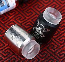 Blitz Ghoul RDA Black and Silver | Phantom Vape Supply