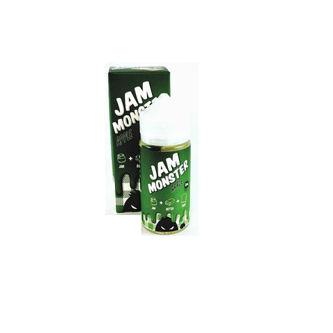 Jam Monster E-Liquid 100ml Apple | Phantom Vape Supply