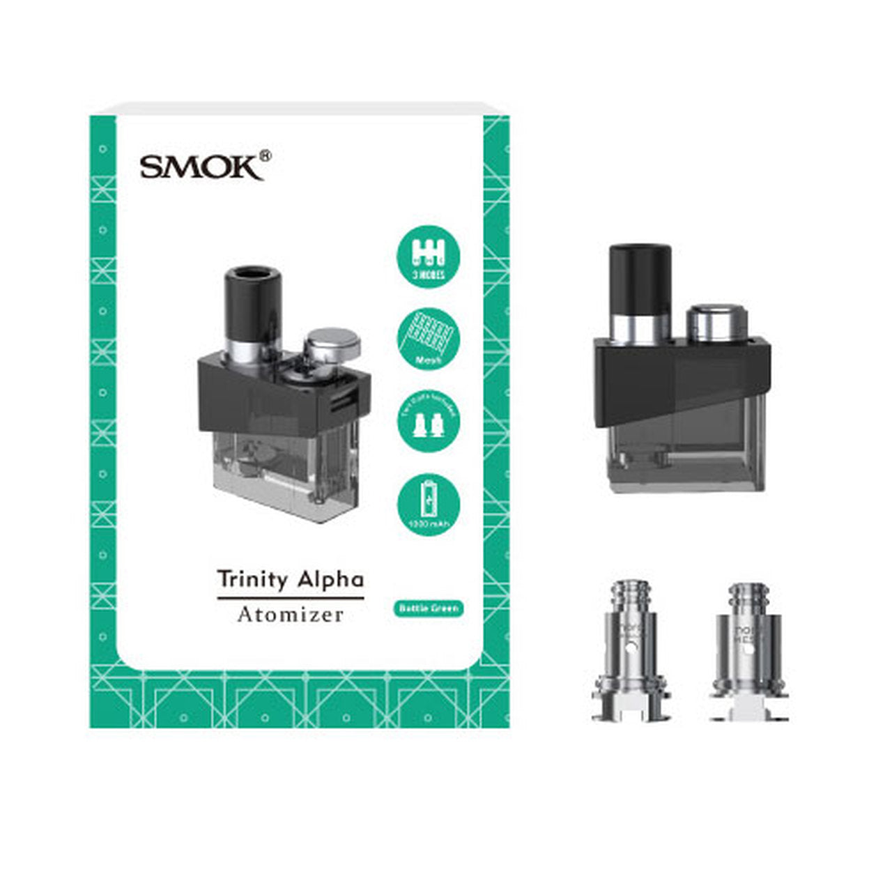 SMOK Trinity Alpha Pod Cartridges | Phantom Vape Supply