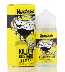 Killer Kustard Lemon E-Liquid 100ml | Phantom Vape Supply