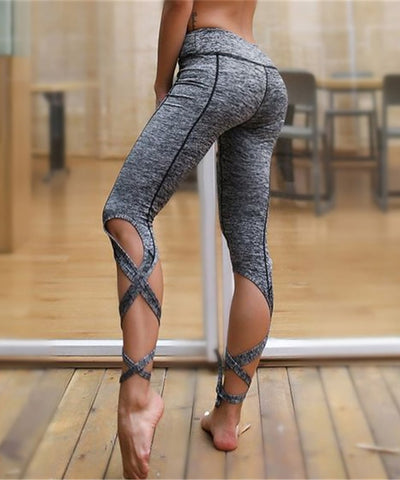 Chic Tie-Up Leggings