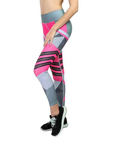 Geometrical Print Leggings