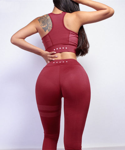 Stylish Sports Bra & Leggings