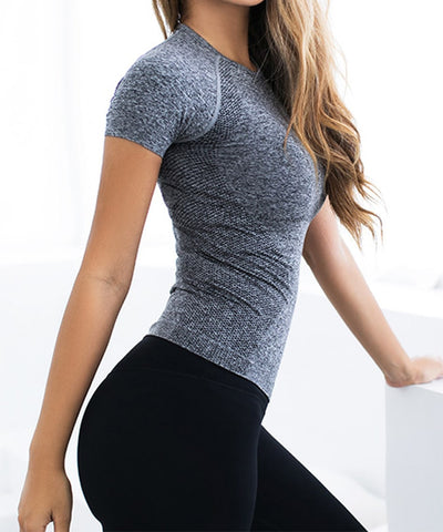 Seamless Short Sleeve Tee