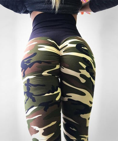 Camo Print Women's Leggings