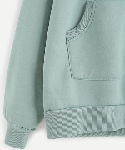 Pale Green Sweatshirt