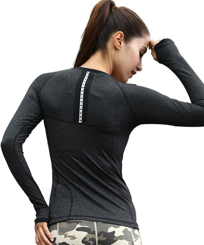 Sporty Full Sleeve Running Top
