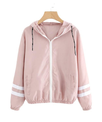 Pink and White Jacket