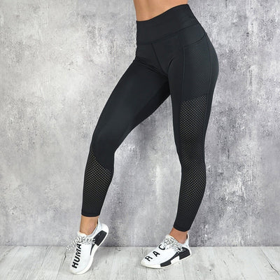 Breathable Mesh Leggings