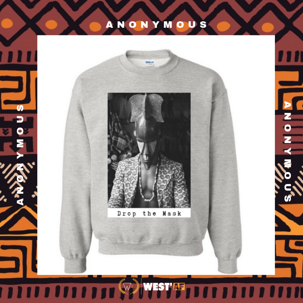 Pull Anonymous Gris