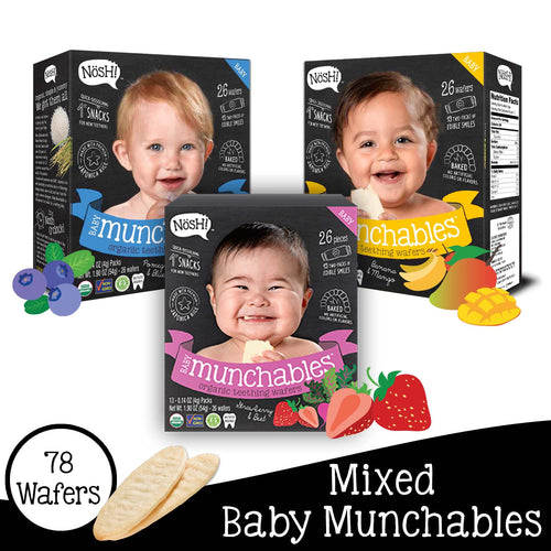 Nosh Baby Munchables Mixed Set of 3