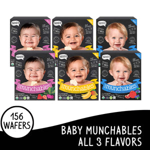 Nosh Baby Munchables Mixed Box of 6