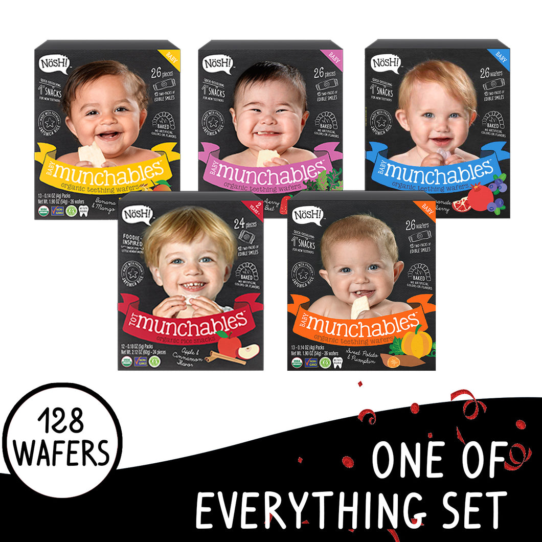 Nosh Organic Munchables One of Everything Set