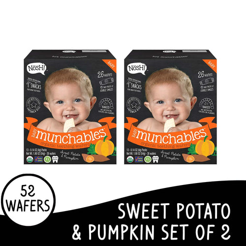 Nosh Baby Munchables Sweet Potato & Pumkin Set of 2