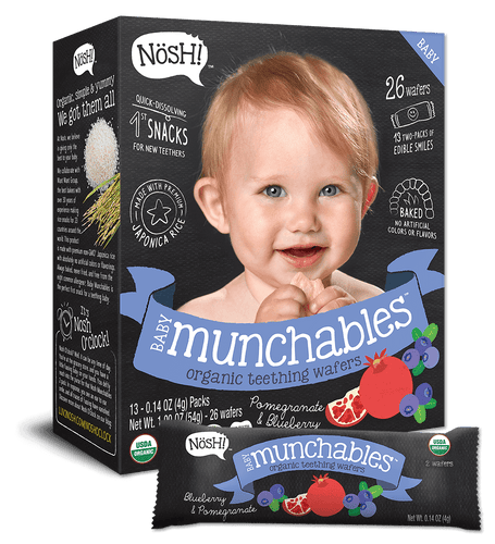 Nosh Baby Munchables Blueberry