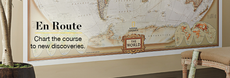 Frameable World Map.Wall Maps Shop National Geographic