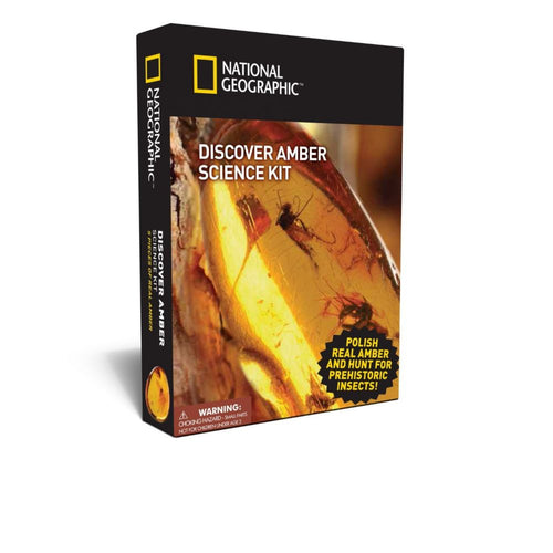Image of Nat Geo Discover Amber Science Kit